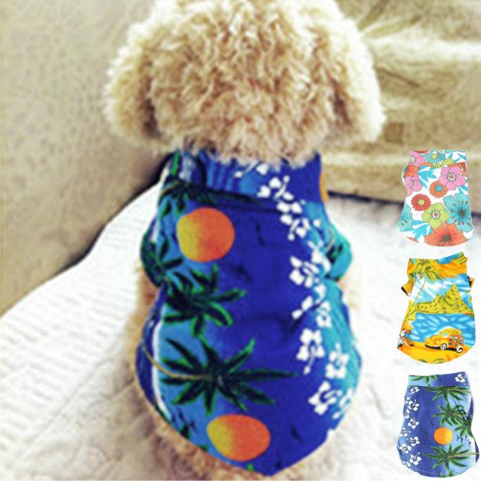 メール便送料無料 ワンちゃんだってアロハ着たいわん ワンちゃん アロハシャツ 3種 サイズXS S M OUTLET SALE L XL 夏用 小型犬 ハワイシャツ 半そで ハワイアンシャツ 売却 かぶせる 犬の服 ペットアロハ 夏服 かわいい 服 かっこいい ペット服