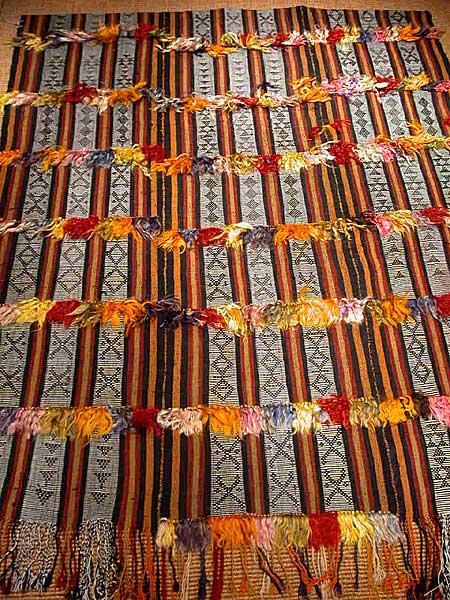 トルコキリム 手織り カラマンマラシュ産 OLD 228x151cm