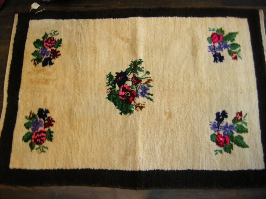 オールド トルコ絨毯 コンヤ産 160x112cm【決算セール】