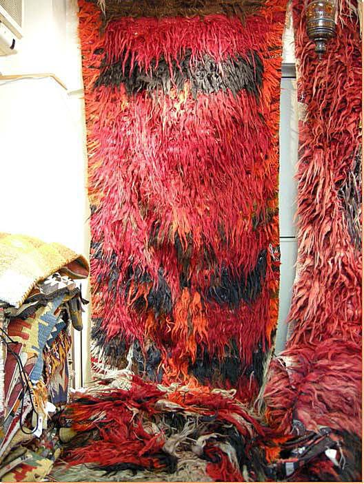 トルコ絨毯 マラティヤ産 80-85年経過 オールドTULU テュリュ