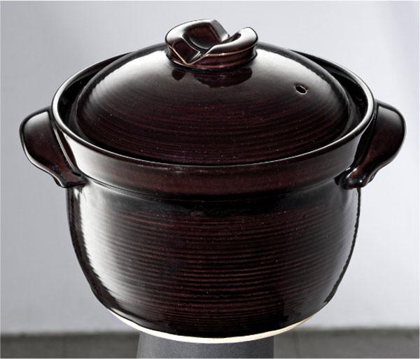 本格的に直火調理でごはん鍋 割引 イシガキ産業 ほっこりグルメ メーカー再生品 ごはん鍋 3合 おひつ 土鍋 ごはん釜