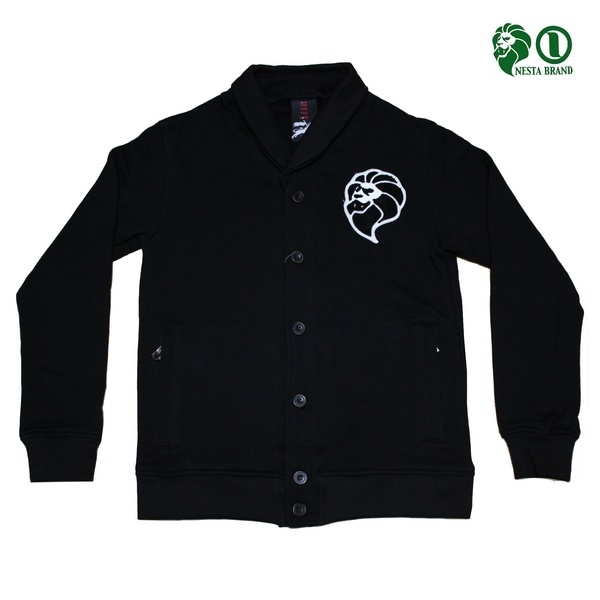 NESTA ジャケット LION SOLDIER SWT JKT T1421F BLK ブラック 【 ネスタ ジャケット / メンズ アウター / ストリート / サーフ / B系 / レゲエ / スケーター / NESTABRAND / あす楽 】