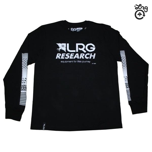 LRG 長袖Tシャツ RC LS TEE BLK ブラック J151112 【 lrg 長袖Tシャツ / LRG ロンT / メンズ / lrg 長袖 / スケーター / ストリート / エルアールジー / あす楽 】