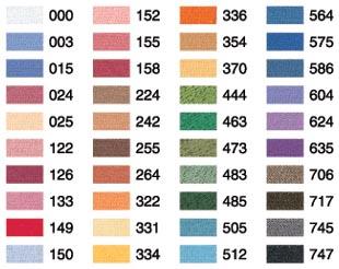 兄弟缝纫机绣花螺纹国家仅 40 种颜色设置部分号 * 订购的产品的制造商 * [线程] [UltraPoS] [颜色]