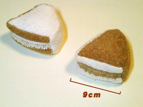 犬 おもちゃ ケーキ オーガニックコットン 綿100% dog toy イヌ ベット玩具 いぬ おもちゃ ぬいぐるみ