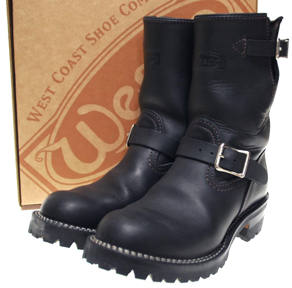 【中古】WESCO ウエスコ Custom BOSS カスタム ボス エンジニア ブーツ 7 1/2 D