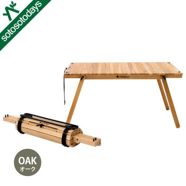 オールスタイム Allstime ドゥーグータイム ザテーブル420 オーク AT-0011-52 [天然木 折りたたみ]