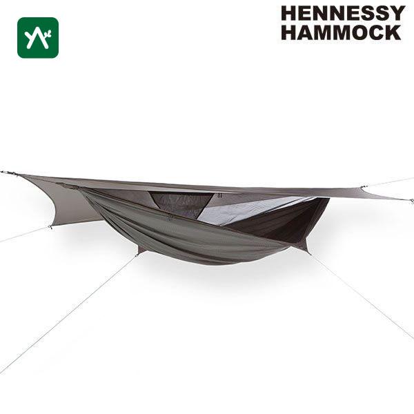 ヘネシーハンモック HENNESSY HAMMOCK ハイパーライト A-SYM ZIP 12880009000001 [タープ付ハンモック]