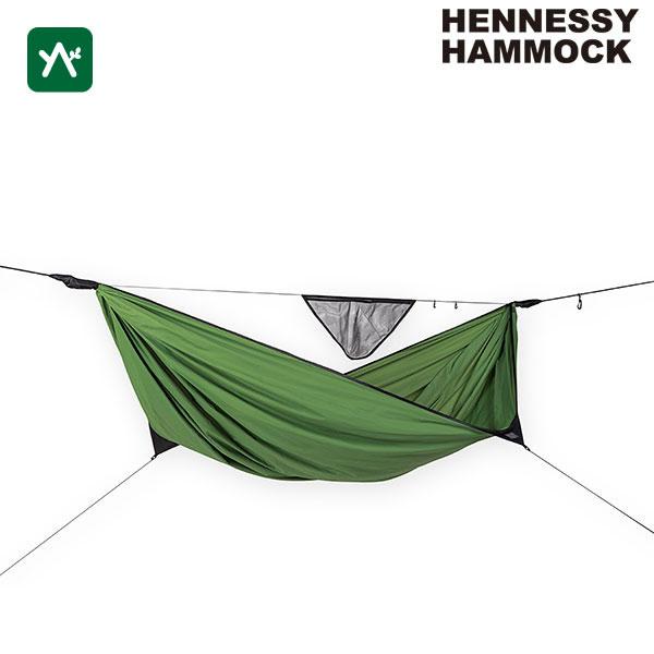 ヘネシーハンモック HENNESSY HAMMOCK リーフハンモック リーフグリーン 12880020018000 [キャンプ]