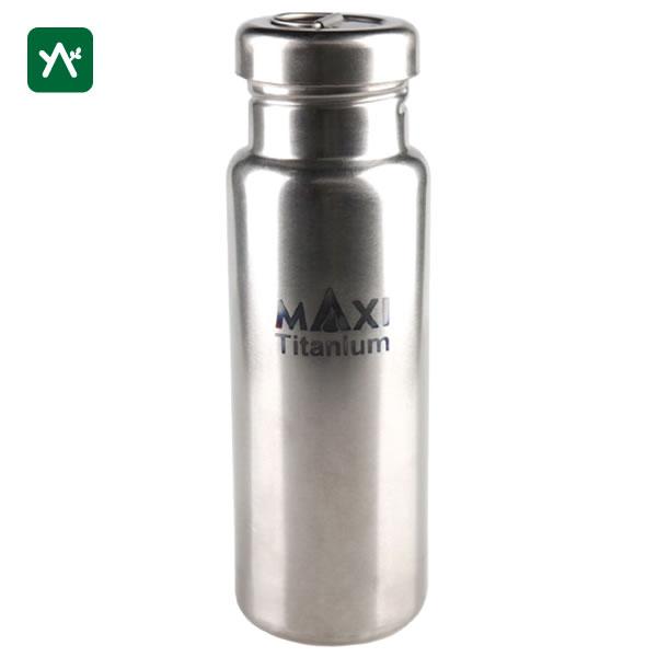 マキシ MAXI チタンボトル 800ml MX-TWB [ウォーターボトル 直火可 耐熱]