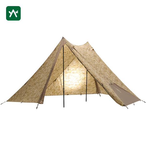 ニーモ NEMO ヘキサライトSE 6P:マルチカムアリッド NM-HEX-6P-MTCAR [6人用テント 大型 キャンプ]