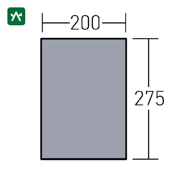オガワ ogawa グランドマット トリアングロ用 3893 [10mm厚]