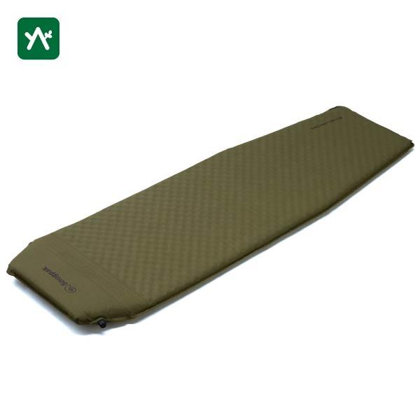 スナグパック Snugpak XLセルフインフレーティングマット(ピロー内蔵式) オリーブ SP91794OL [スリーピングマット]