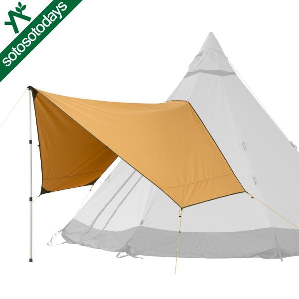 テンティピ Tentipi Canopy キャノピー 5/7 Comfort CP [タープ テントパーツ]