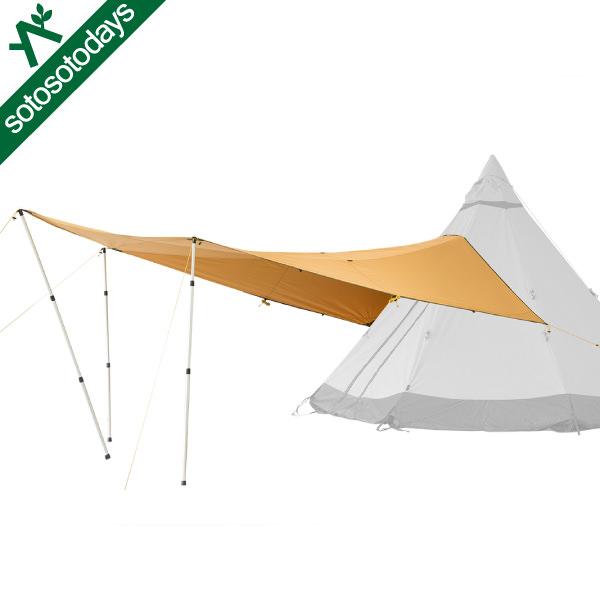 テンティピ Tentipi Canopy キャノピー 7/9 Comfort CP [タープ テントパーツ]
