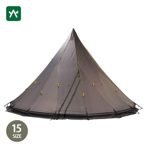テンティピ Tentipi オニキス 15 ライト [テント ワンポール 大型]