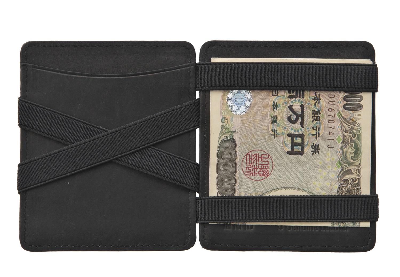 Hunterson コイン入れつきマジックウォレット 魔法の財布 日本紙幣対応(ワイド)