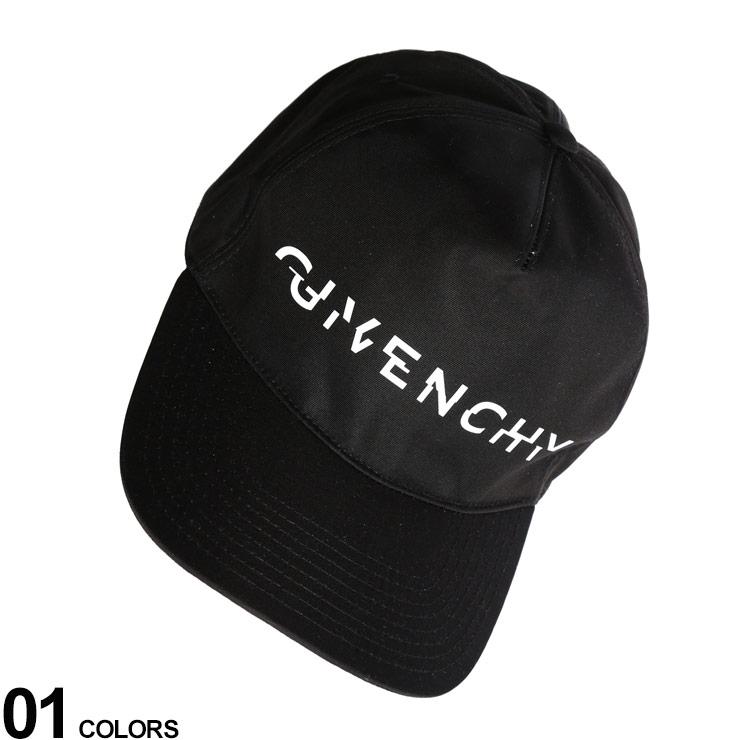 GIVENCHY (ジバンシィ) ナイロン ロゴプリント アジャスター キャップ CURVED CAPブランド メンズ 男性 帽子 キャップ ベースボールキャップ ロゴ シンプル ナイロン プリント GVBPZ003P05A