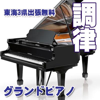 新規調律グランドピアノ お申し込みキャンペーン年数開いていても、定額料金1年の保障も付きます!【ピアノ調律】