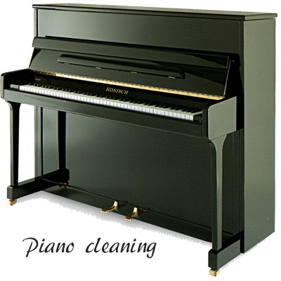 ピアノクリーニング 登場大人気アイテム お持ちのピアノをきれいに ピアノクリーニング☆しかも調律1回分含む 国産品 注:リフレッシュとは異なります 艶出しピアノ限定
