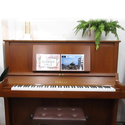 YAMAHA ヤマハ W101(2)【中古ピアノ】【アップライトピアノ】【名古屋のピアノ専門店】】木目 艶消し ウォルナット 大きな譜面台 大譜面台 トーンエスケープ
