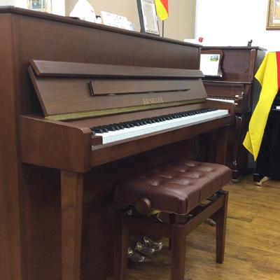 木目艶消しモデル 激安通販ショッピング SEILER 116WS アップライト おしゃれ 中古ピアノ 名古屋のピアノ専門店