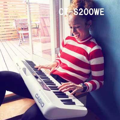 楽しいキーボードピアノ CASIO カシオ 新品未使用正規品 CT-S200WE キーボード 送料無料 新入荷 流行 白