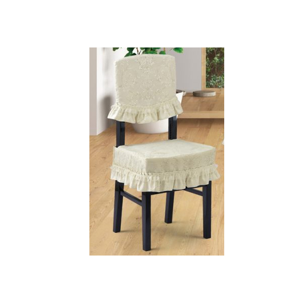 送料無料 お気にいる 背付ピアノ椅子カバー アイボリー系 ダマスク柄 ジャガード織 アルプス VX-CK 名古屋のピアノ専門店 マーケティング