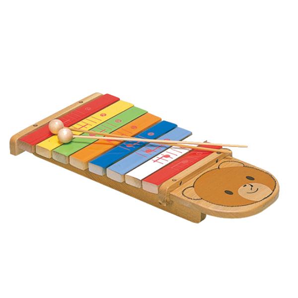 知育玩具 メーカー在庫状況による シロホンクマ 9016 テレビで話題 日本メーカー新品 木のおもちゃ 名古屋のピアノ専門店