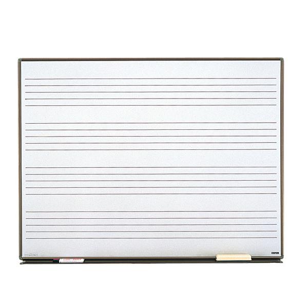 五線ボード H-2AW ホワイトボード【送料無料】【名古屋のピアノ専門店】