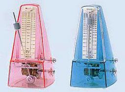透明カラーのメトロノーム 送料無料 ニッコーメトロノーム 値引き 名古屋のピアノ専門店 受注生産品 ラミエール