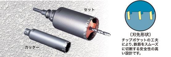 ミヤナガ ALCコア PCALC220R  (セット) SDS軸