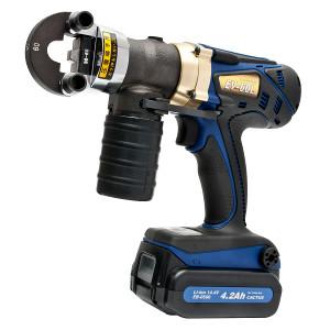 カクタス コードレス電動油圧式圧着工具 EV-60L 送料無料