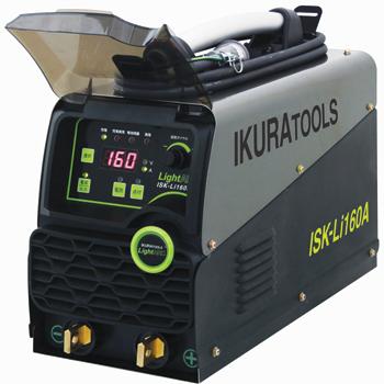 イクラ(育良精機) ポータブルバッテリー溶接機 ライトアーク ISK-Li160A