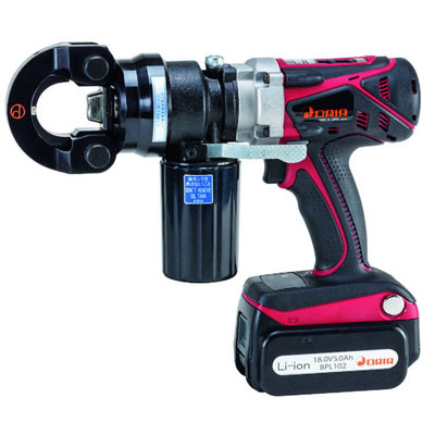 【正規品質保証】 ダイア  コードレス圧着工具  HPN-250RLB アタッチメント交換型プロマー:M-TOOL-DIY・工具