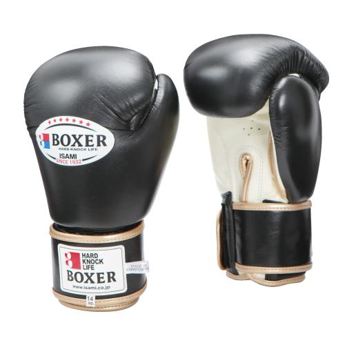 ISAMI BOXERボクシンググローブ 本革 10オンス(TBX-110)