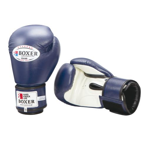 ISAMI BOXERボクシンググローブ 本革 16オンス(TBX-116)