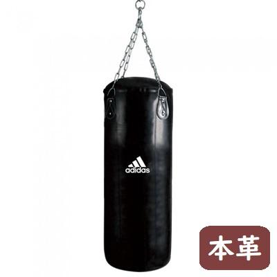 adidas パワー サンドバッグ (牛床革) (90cm) //ボクシング ジム 空手 キックボクシング トレーニング ボクササイズ ダッキング