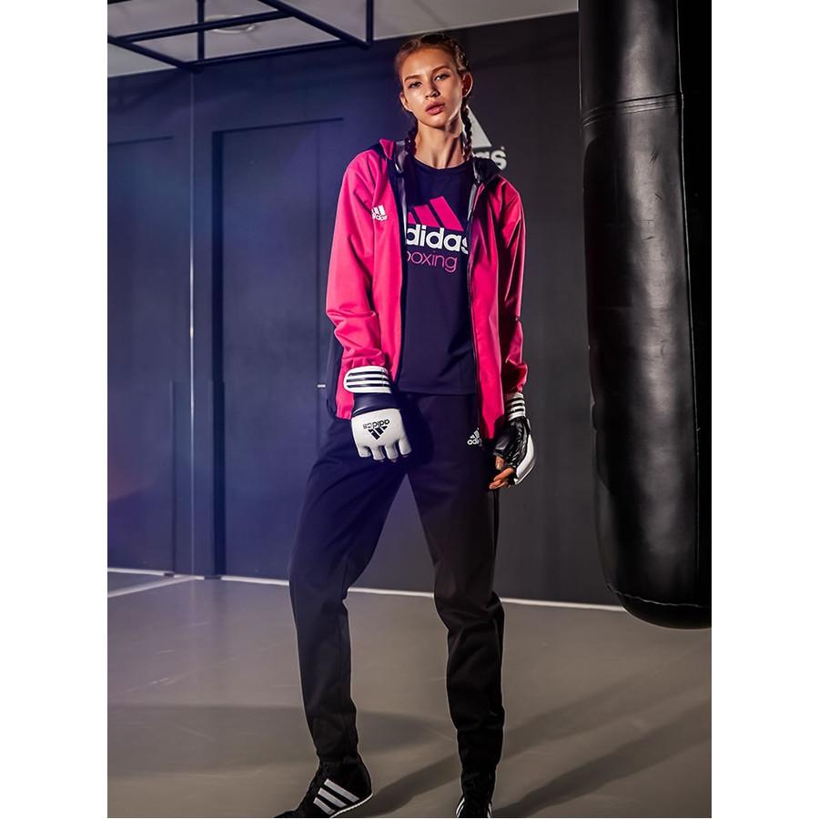 adidas シルバーハイロン レディース サウナスーツ //アディダス 減量 ダイエット ボクササイズ フィットネス トレーニング ウェア WOMEN 女性向け