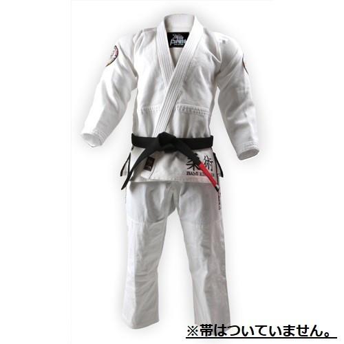ISAMI イサミ×リバーサル柔術衣 ワールドモデル(上下セット) 白//柔術着 ジム グラップリング 格闘 上下 ホワイト エムワールド mworld