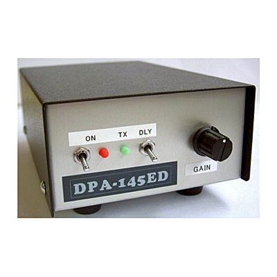 【お取り寄せ】DPA-435ED 430MHz帯 ウルトラローノイズプリアンプ (卓上型受信プリアンプ)