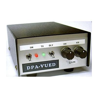【お取り寄せ】DPA-VUED 144/430MHz帯 デュアルバンド ウルトラローノイズプリアンプ (卓上型受信プリアンプ)