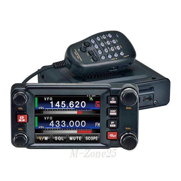 【即納】【送料無料】FTM-400XDH ヤエス(YAESU) C4FM FDMA/FM 144/430帯 デュアルバンドトランシーバー 50W機 アマチュア無線 八重洲無線 FTM400XDH