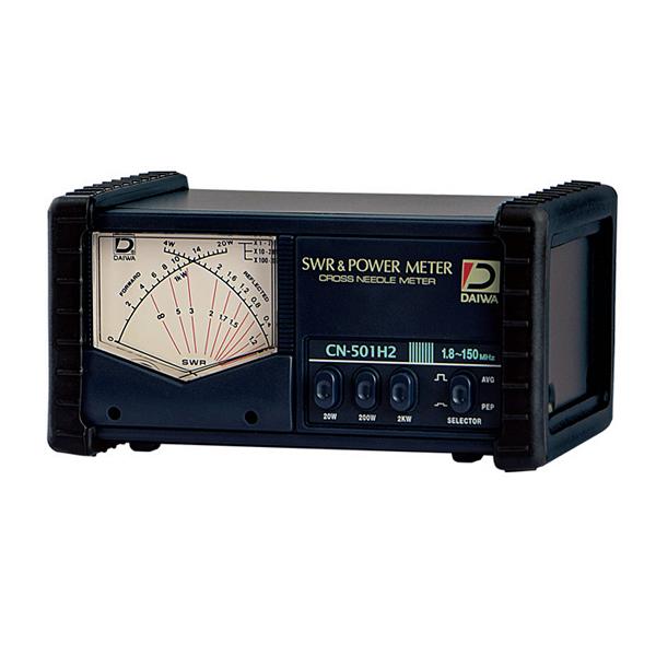 ■帯域:1.8~150MHz レンジ:20 200 2000W■ お取り寄せ 1.8~150MHz CN501H2 ダイワインダストリ 直送商品 SWRパワーメータ CN-501H2 テレビで話題