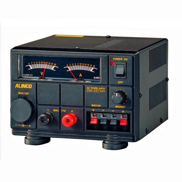 ■ハンディ機やモービル機をAC100V電源で使うために ■ メーカー公式 DM-320MV DM320MV アルインコ 20A安定化電源 正規品スーパーSALE×店内全品キャンペーン