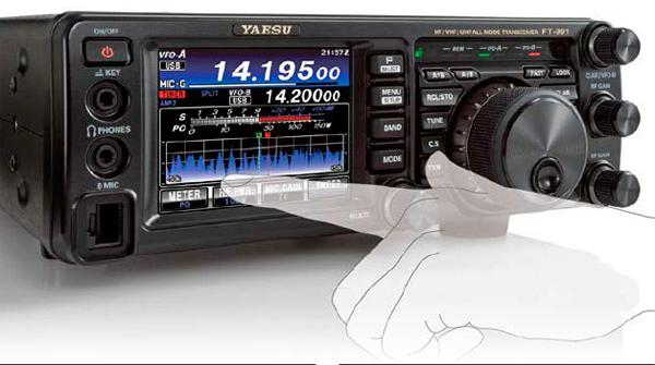FT-991AM(50W)と保護シートSPS-400Dのセット  YAESU HF/VHF/UHF(1.8MHz帯~430MHz帯) オールモード トランシーバー 八重洲無線 ヤエス FT991AM