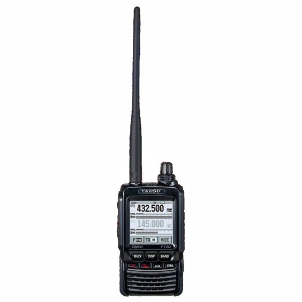 FT2D ポータブルデジタルノード機能対応にアップデート済み YAESU C4FM FDMA 144/430MHz デュアルバンド D/Aトランシーバー ヤエス 八重洲無線 FT-2D