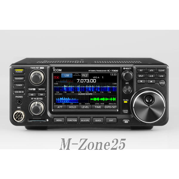 IC-7300(100W) アイコム HF+50MHz オールバンドトランシーバー<SSB/CW/RTTY/AM/FM> アマチュア無線 IC7300