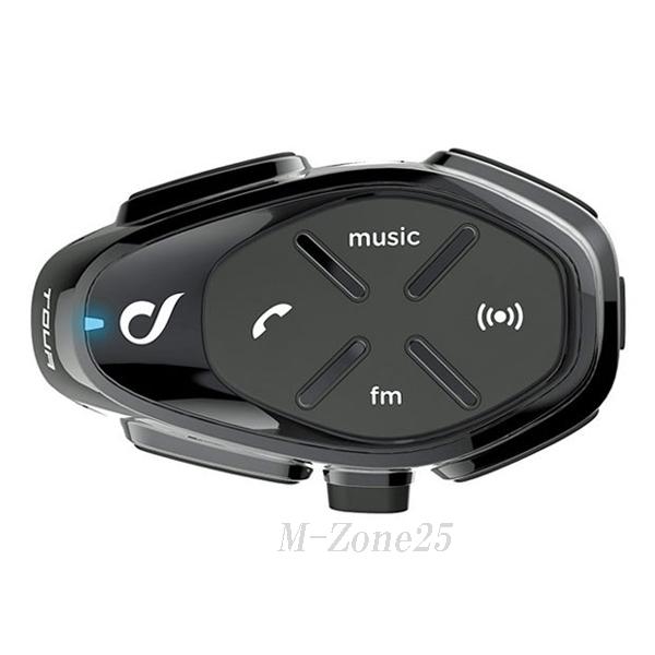 インターフォンTOUR(ツアー) シングルパック バイク用Bluetoothインカム interphone TOUR