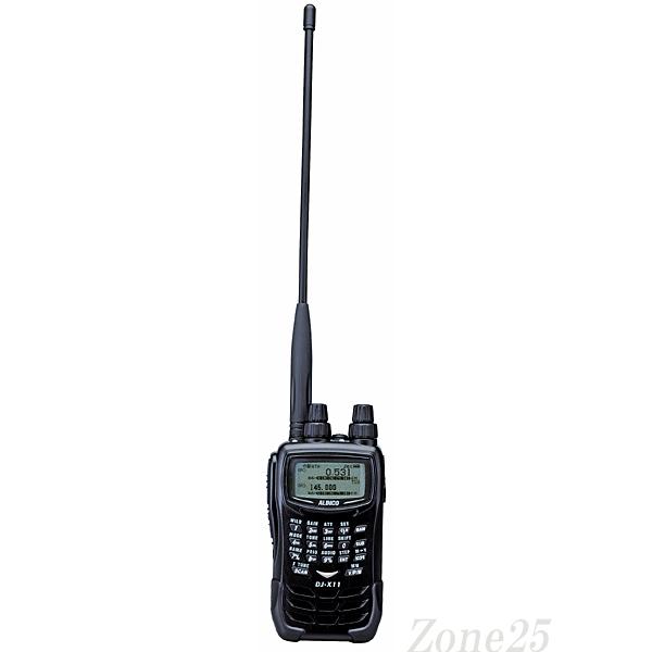 DJ-X11 アルインコ 0.05-1299.99995MHz SSB/CW/AM/FM/WFM オールモード ワイドバンドレシーバー SMA端子 DJX11